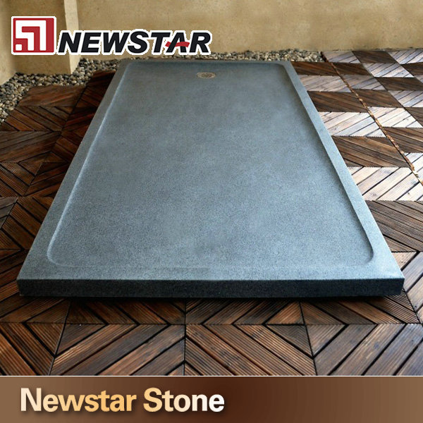 shanxi black granite stone shower basesquare shower base