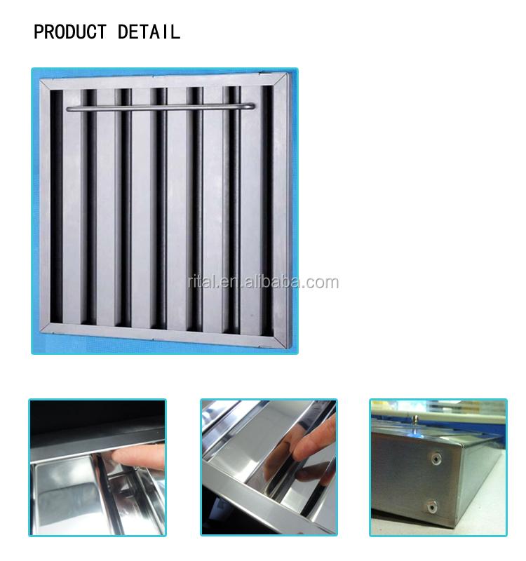 10 micron stainless steel filter mesh for range hood filter
