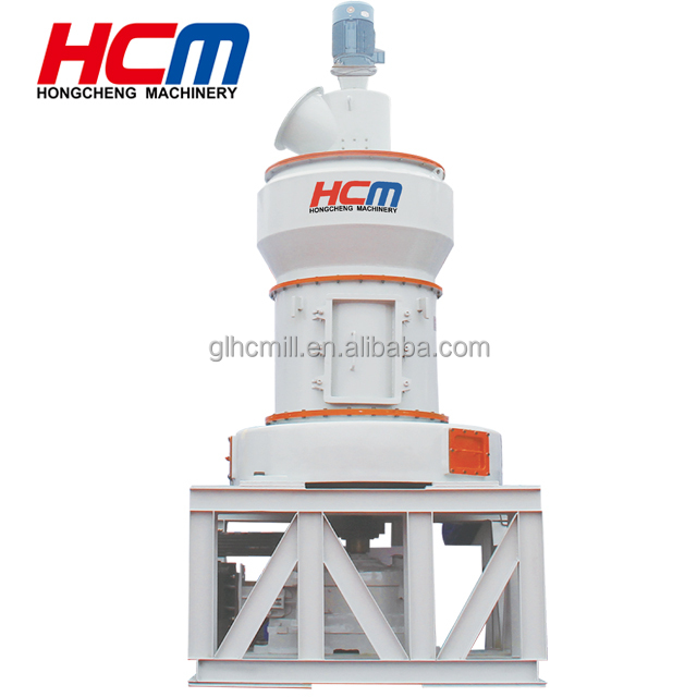 High speed grinding mill for nonmetallic ore powder processing