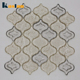 China Foshan Factory Grey Premium Glass Mosaic Tiles For Living Room