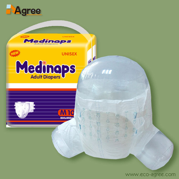 Super Thick Urinary Incontinence Diaper Free Sample Of Adult Diaper, View  free samples of adult diapers, Medinaps Product Details from Quanzhou Agree