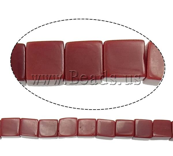 Free shipping!!!Jade Beads,Womens Jewelry, Jade Red, Cube, natural, 6x6x6mm, Hole:Approx 1mm, Length:Approx 16 Inch