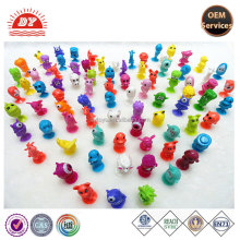 Hot selling TPR Stikeez Figurines Toys for capsule toy
