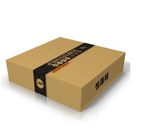 brown kraft paper box for apparel ,shoes ,sweater