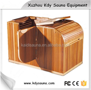 1 person far infrared indoor sauna room for half body buy 1 person far infrared indoor sauna. Black Bedroom Furniture Sets. Home Design Ideas