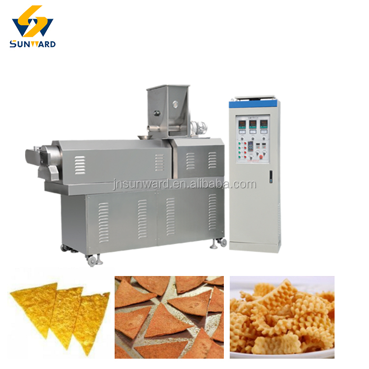 Hot Sale Fried Snack Food Processing Line Nachos Making Machine