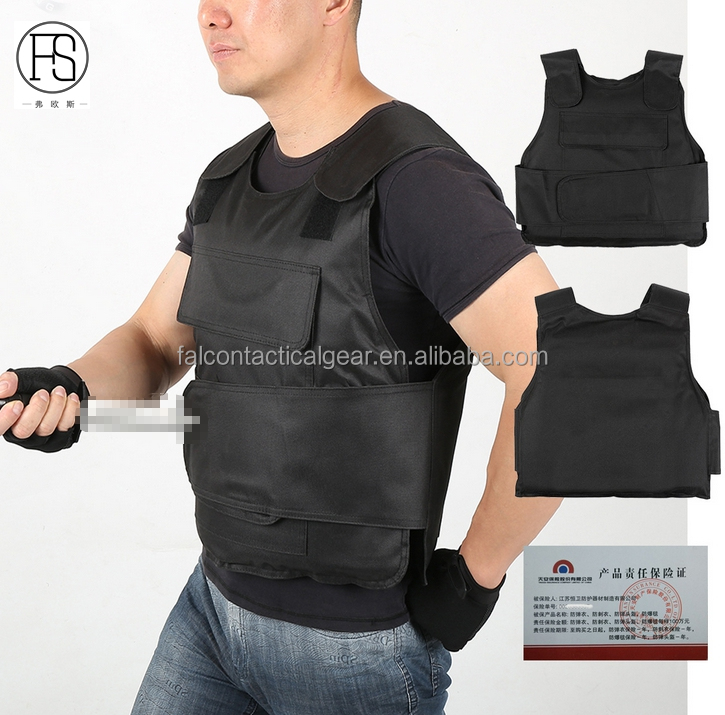 Security Guard Knife Stab Vest Soft Anti-knife Vest Lightweight Anti-stab Hiking Vests Hiking Clothings
