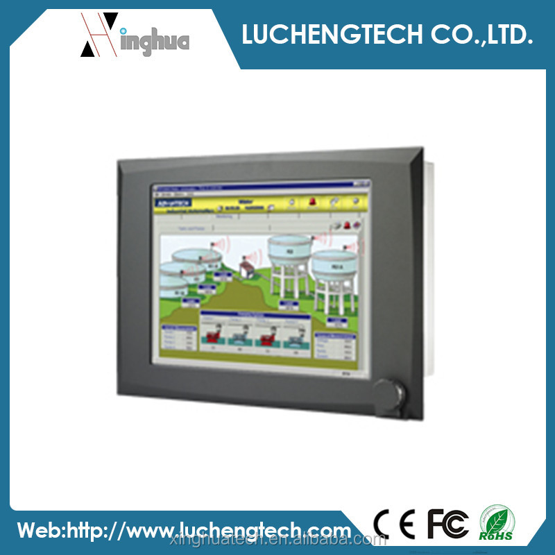 Advantech 17 SXGA TFT LCD Pentium 4 Industrial Touch Panel PC IPPC-9171G-R1AE