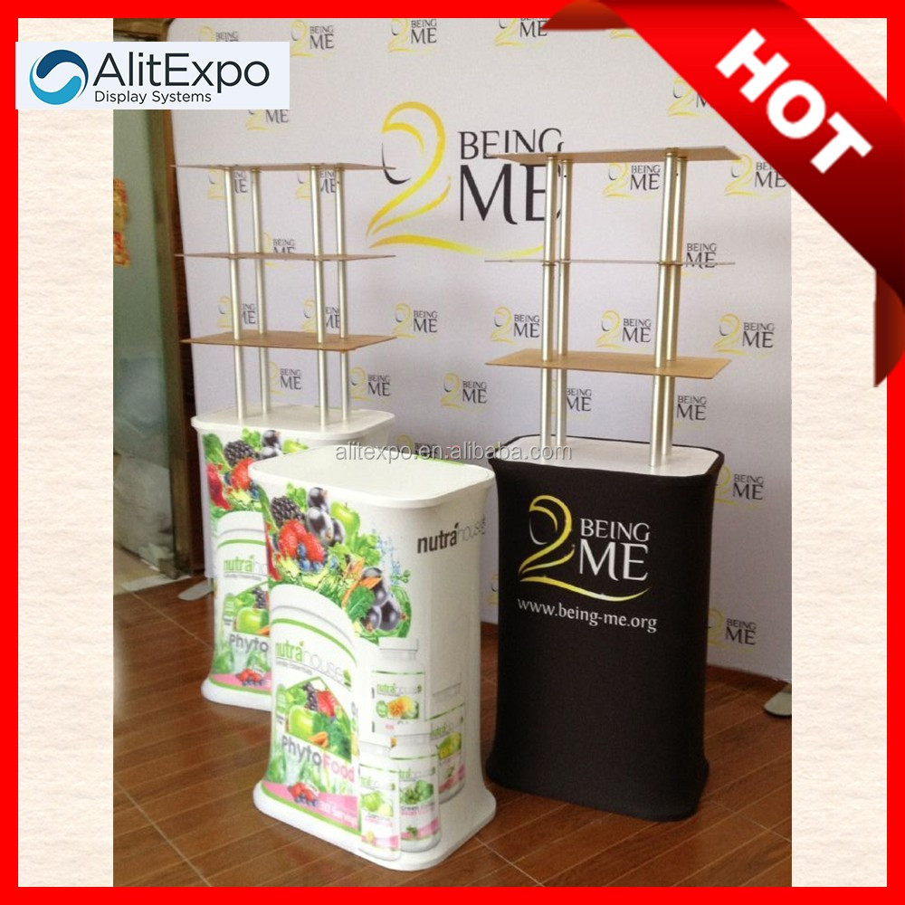 heat transfer heat transfer expo promotional table display tables for shops