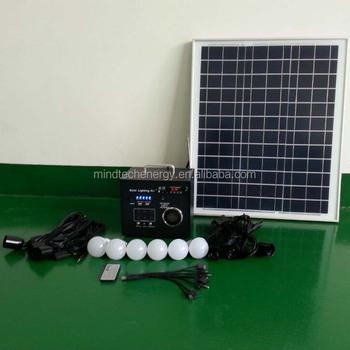Fm Radio Energy Ed 12 Volt Solar Led Lighting Systems System