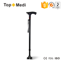 Topmedi TWA001 Electric Smart cane outdoor Walking Stick With Radio and Alarming Function