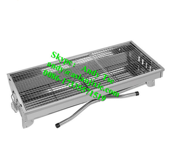 Draagbare Familie BBQ Houtskool Grill Barbecue Koken Outdoor Party Grill