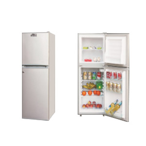 258L 168L bottom freezer 12v 24v fridge with solar system
