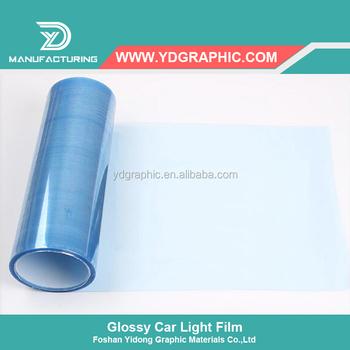 Starwrap Transparent Vinyl Colored Sheets For Car Head Light Color ...