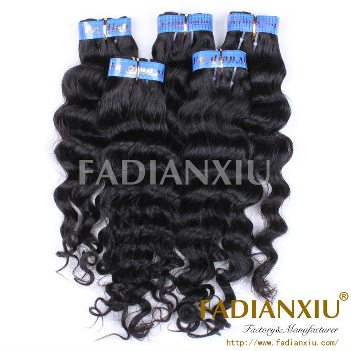 outstanding virgin indian hairpiece 12-28 inch hair weave free sample