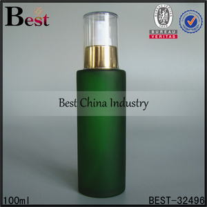 100ml frosted green glass spray bottle canada fine mist glass spray bottle for cleaning