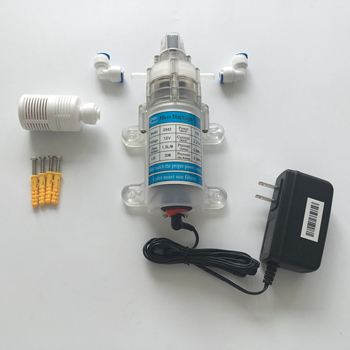 12V mute type 15W food grade purifier use diaphragm pump set