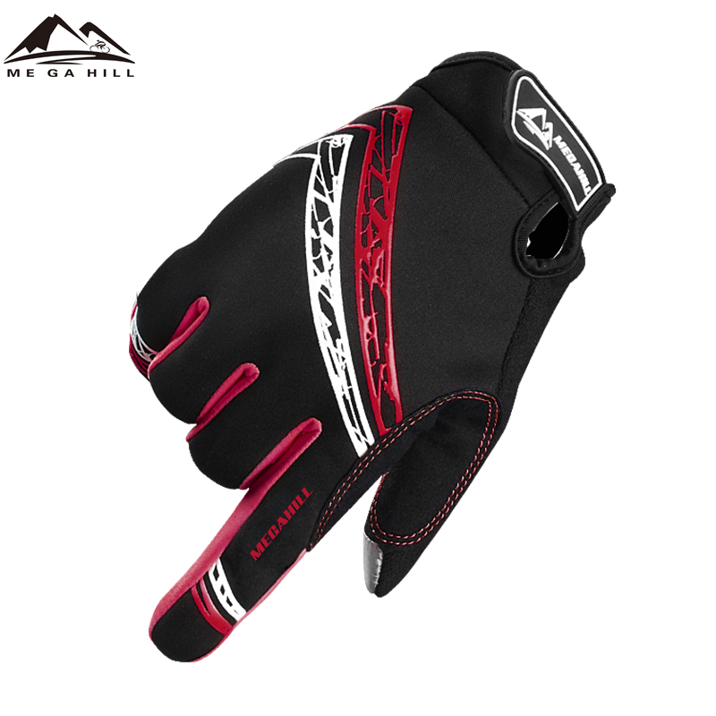 Mens Traspirante Finger Gloves Completa Touch Screen Anti-slip Bike Winter Riding Guanti Da Ciclismo