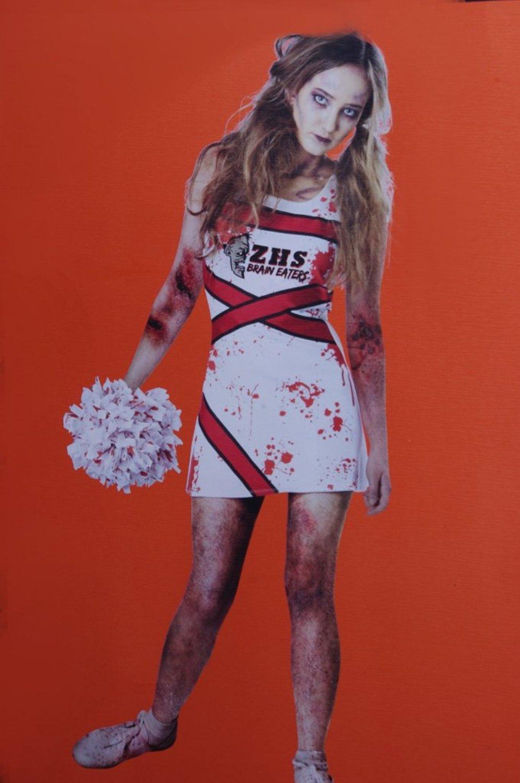 Zombie Cheerleader Halloween Costume For Girls.Cheap Zombie Cheerleader Costume Girls Find Zombie Cheerleader