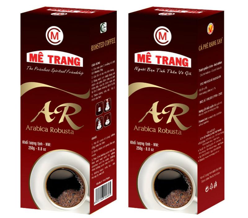 "100% Natural Arabica Ground Coffee ""kamasutra"" 250 G"
