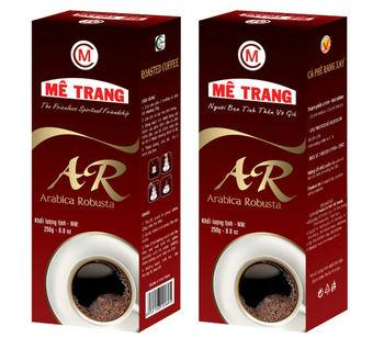 Arabica Robusta Ground Coffee - Me Trang Brand - Ar Label