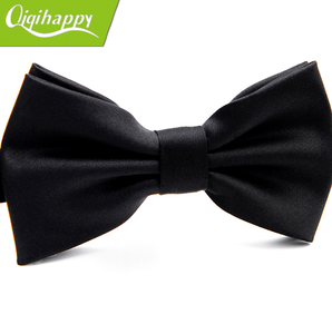 Hot sale bow ties for men with trim boys in silk