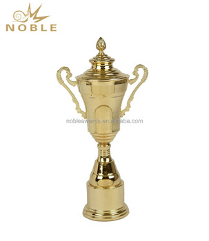 Wholesale New Custom Gold Plate Metal Sports Trophy Cup