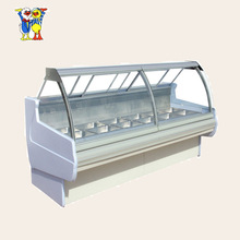 China Little Duck commercial upright showcase fridge equipment E6 ALASKA (Heated Cabinet) with CE certification