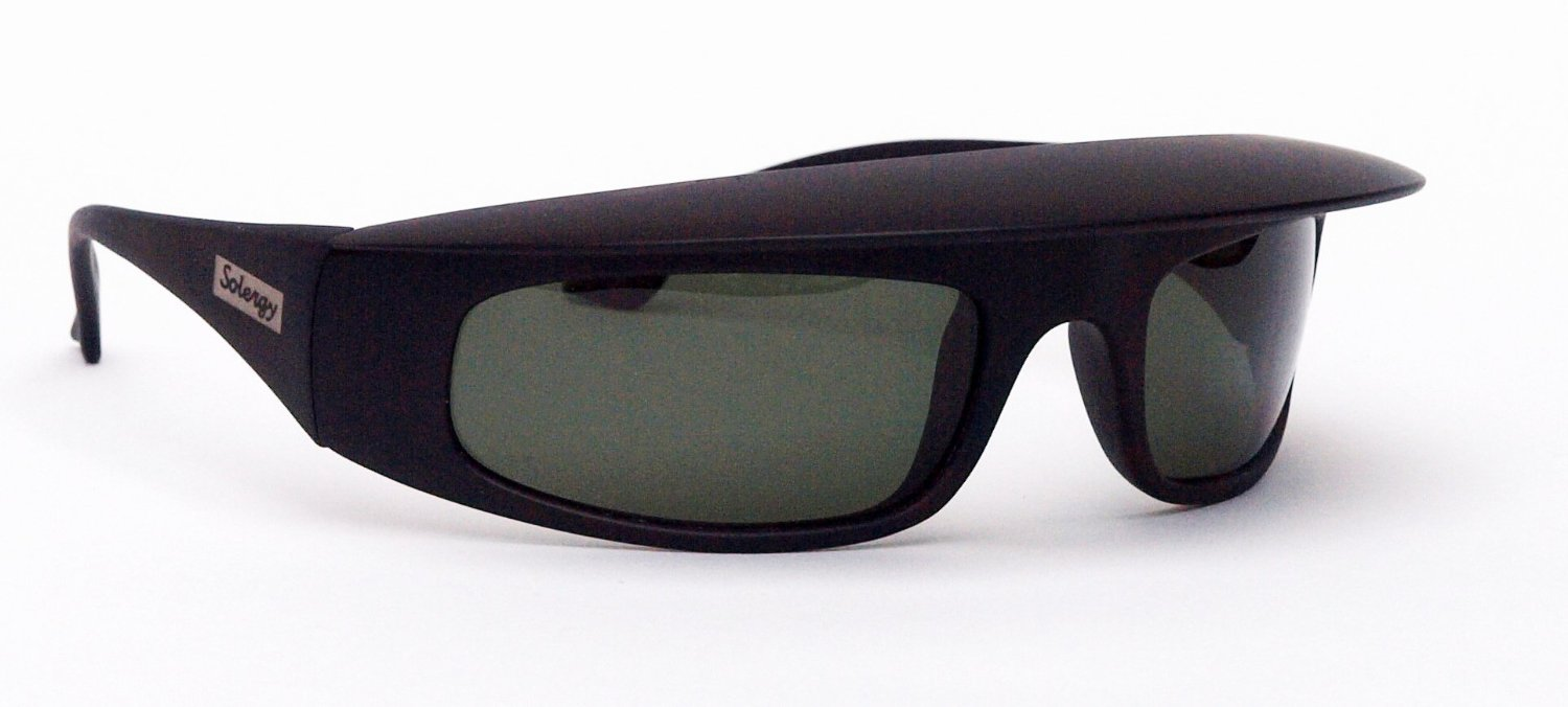 321d3d5f Solergy Visor Glare Blocking Wrap Around Polarized Sunglasses, 100% UVA/UVB  protection for