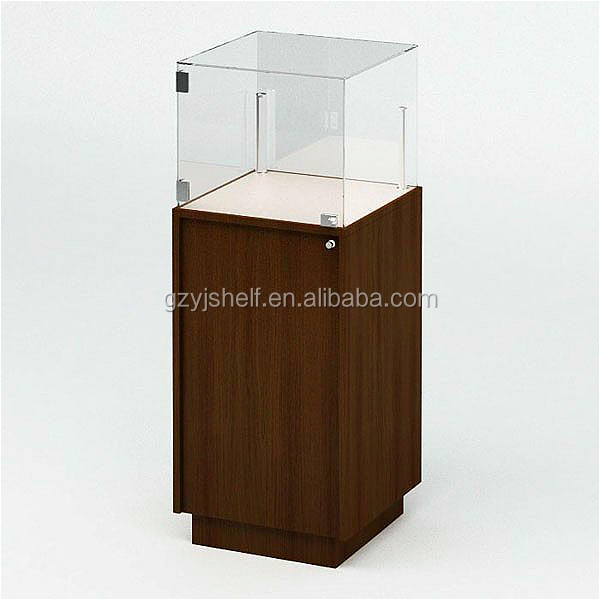Fine Glass Display Stand For Sale/ Beauty Display Showcase With ...