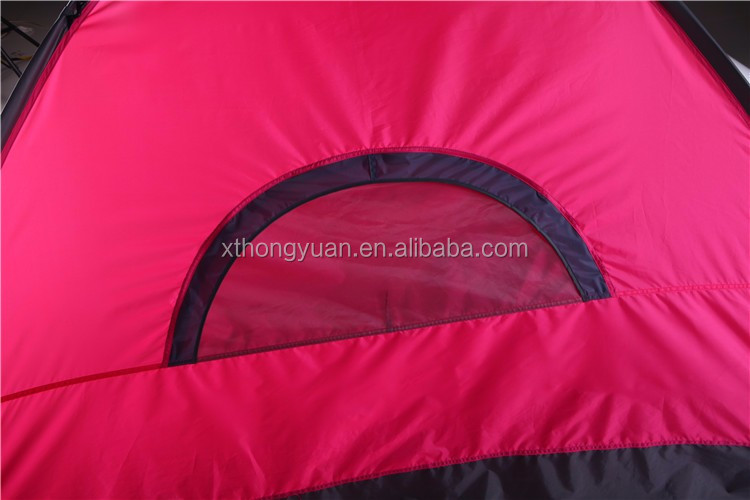 Dubbellaags 1-2 Persoon Draagbare pop up tent groothandel