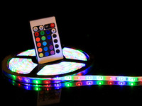 High brightness led flexible ribbon strip lights multi or single colors