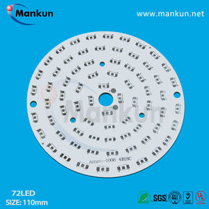round 3w/7w/8w/9w flexible cheap aluminum pcb /led printed circuit board for blackberry led lighting/ electronic circuit board