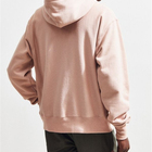 custom embroidered unisex pink pullover sportswear fitness hoodies