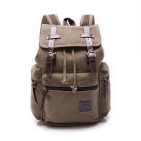 Amazon Fashion Men Women Rucksack Bags Vintage Canvas Backpack