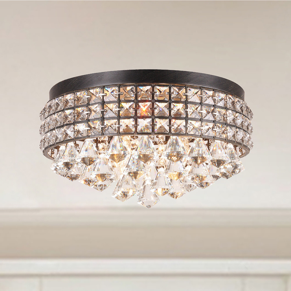 Modern home decor ceiling chandelier low ceiling crystal flat modern home decor ceiling chandelier low ceiling crystal flat lighting fixture from china supplier mozeypictures Image collections