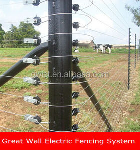 Free standing electric security fence energizer solar fence energizer electric fence energizer