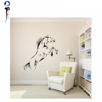 Fashion Horse Home Decoration Wall Sticker brand sticker