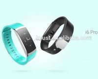 2017 most popular Iwown i6 pro Smart Wristband sedentary remind smart watch heart rate monitor wrist pedometer watch