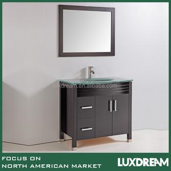 Usa Tempered Glass Top Furniture Bathroom Vanities Buy Usa