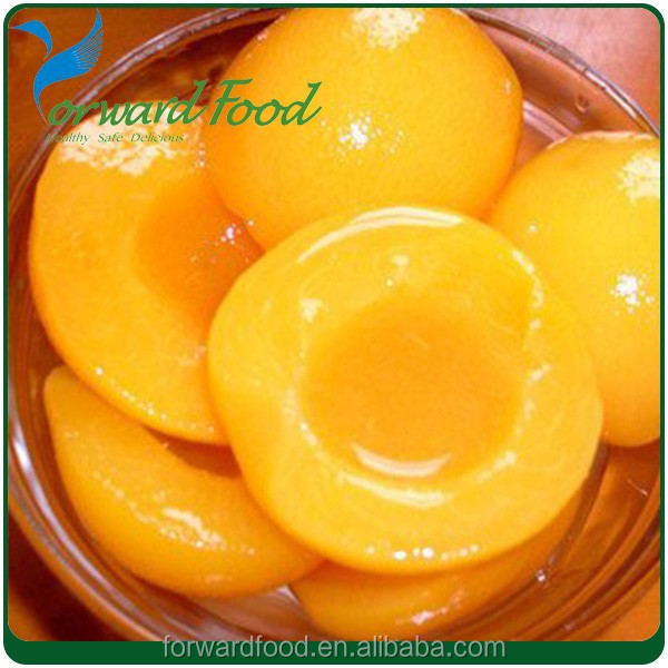 wholesale bulk food canned yellow peach in stock price