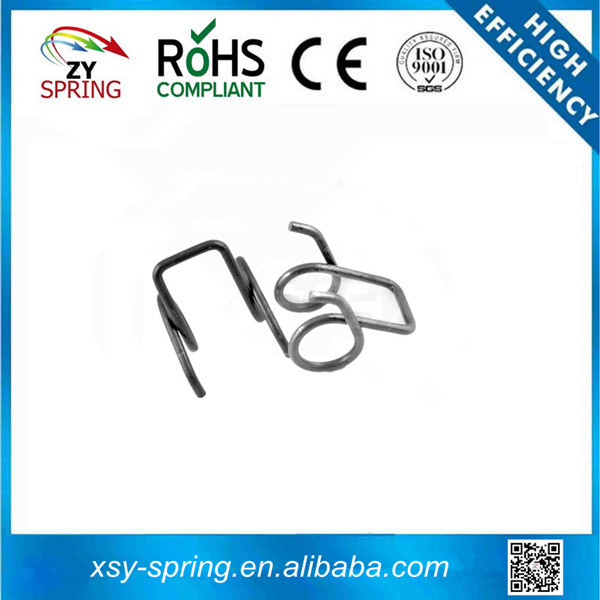 double wheel shaped arms torsion spring for garage doors