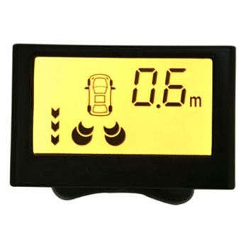 Show Parking Meters,Buzzer Alarm from 2.0mts,LCD Reversing Sensor System