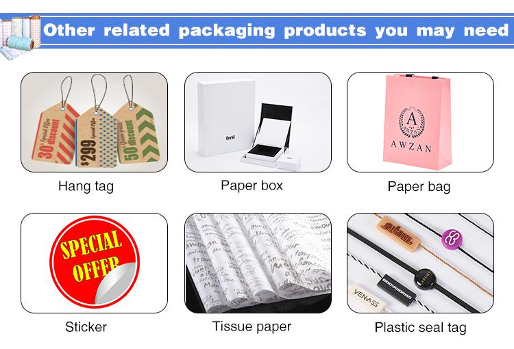 Özel Baskılı Giyim Doku Kağıdı Hediye Paketleme Kağıdı