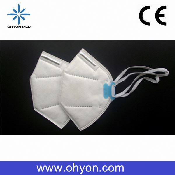 PN2.5 non-woven circular breathing valve 2 ply surgical face mask