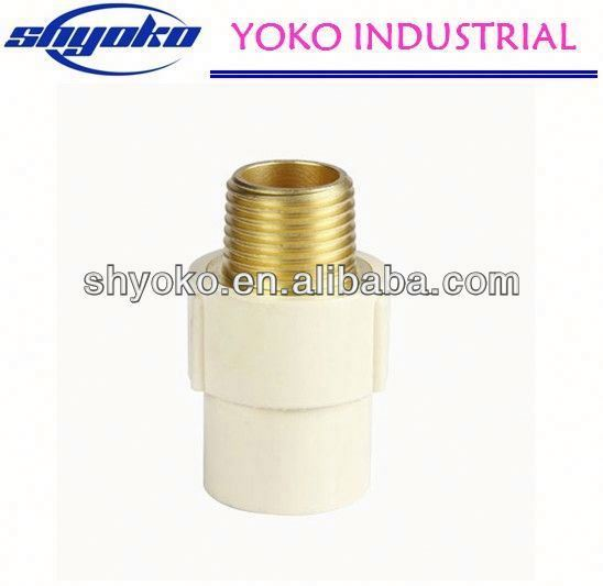2014 China high quality CPVC pipe fittings Plastic Tubes industrial barbell body jewelry