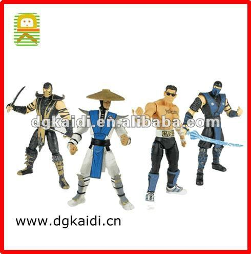 Hot Sale item Mortal Kombat Figures sets for kids