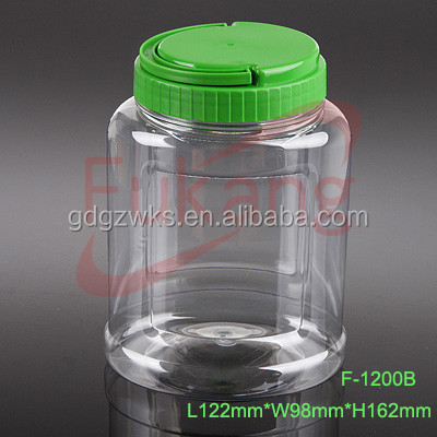 40oz Large Plastic Candy Containers,Clear Medical Herbs Packaging ...