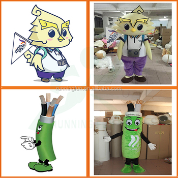 4b9019d82 Advertising adults mascot costume custom made, used Cartoon character Fur  Mascots Costumes for party