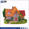 LED fiber optic Christmas lighted resin village house